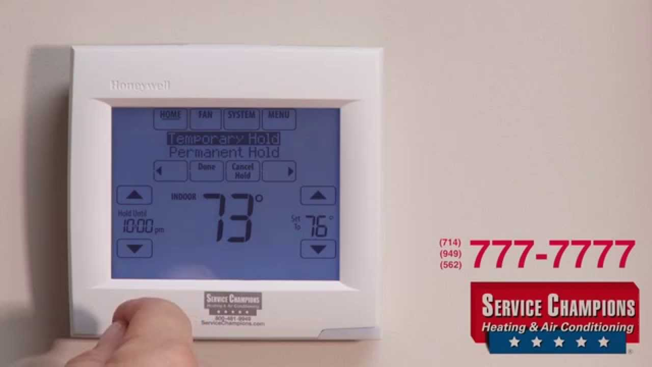 honeywell thermostat visionpro th8000 owners manual